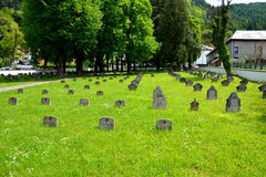 Heroes Cemetery from WWI in Brasov, Transylvania Royalty Free Stock Photo