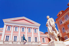 Heroes of Cypriot Struggle Square, Corfu, Greece Stock Photography