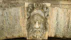 Heroes of Greek mythology. The heroes of the Greek mythology made in stone adorn the bridge Stock Image