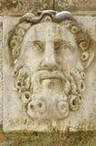 Heroes of Greek mythology. The heroes of the Greek mythology made in stone adorn the bridge Royalty Free Stock Photo