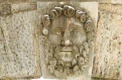 Heroes of Greek mythology. The heroes of the Greek mythology made in stone adorn the bridge Stock Images