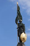 The Heroes' Monument of the Red Army in Vienna Royalty Free Stock Images