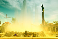 Heroes' Monument of the Red Army, Vienna Stock Photography