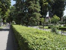 Heroes Park in Brasov. Romania stock photos