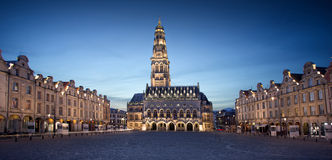 The heroes place in Arras, France Stock Image