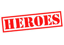 HEROES Royalty Free Stock Image