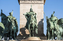Heroes Square Royalty Free Stock Photography