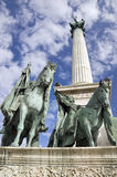 Heroes Square, Budapest Stock Images