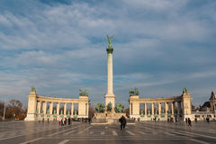 Heroes' Square, Budapest Royalty Free Stock Photos