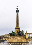 Heroes Square in Budapest, Hungary, Europe Royalty Free Stock Photo