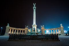 Heroes square Budapest Royalty Free Stock Images