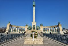 Heroes' Square, Budapest Stock Photography