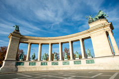 Heroes Square, Budapest Royalty Free Stock Image