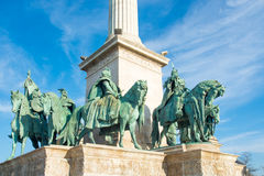 Heroes Square, Budapest Royalty Free Stock Photography