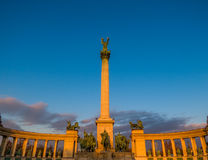 Heroes Square, Budapest Royalty Free Stock Photos