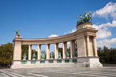 Free Heroes Square In Budapest Royalty Free Stock Images - 22761079