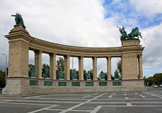 Heroes Square monument Royalty Free Stock Photography