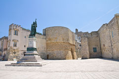 Heroes' Square. Otranto. Puglia. Italy. Stock Photo