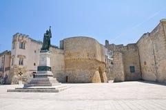 Heroes' Square. Otranto. Puglia. Italy. Stock Photo