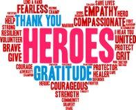 Free Heroes Word Cloud Stock Photos - 180832833