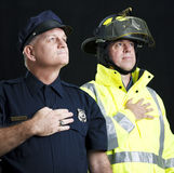 Heroic First Responders Royalty Free Stock Photo