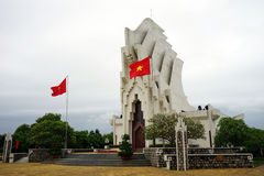 Heroic Martyrs Monument on Nhan Mountain Stock Photos