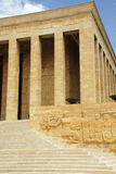 Heroic monumental architecture  of Ataturk Mausoleum Royalty Free Stock Photos