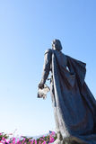 Heroic Statue Royalty Free Stock Photography
