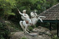 Heroic Statue. Jendral Sudirman, hero of Indonesia Royalty Free Stock Photo