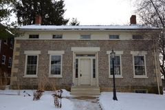 Herrick Cobblestone House Stock Image