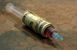 Heroine Addiction Stock Images