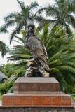 Heroische Bronzepapageien-Statue, Teneriffa, Kanarische Inseln, Spanien, Europa lizenzfreies stockfoto