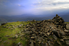 Heron Pike from Great Rigg Royalty Free Stock Image