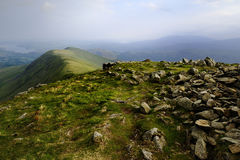 Heron Pike from Great Rigg Royalty Free Stock Photos