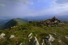 Heron Pike from Great Rigg Stock Image