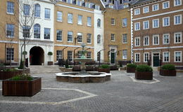 Heron Square, London Stock Images