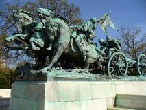 Heros of the Civil War Stock Image