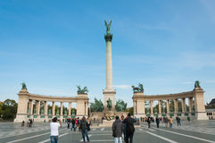 Heros Square, Budapest Royalty Free Stock Photos