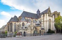 Herr, alte Stadt in Belgien Stockfoto