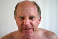 Herr Angry Lizenzfreies Stockbild