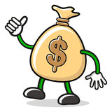 Herr Geld vektor abbildung