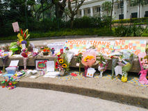 Herr Lee Kuan Yew (16 09 1923-23 03 2015) Lizenzfreies Stockbild