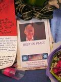 Herr Lee Kuan Yew (16 09 1923 - 23 03 2015) Lizenzfreie Stockbilder