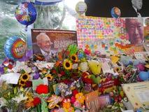 Herr Lee Kuan Yew (16 09 1923 - 23 03 2015) Arkivbild