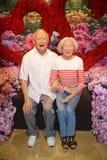 Herr Lee Kwan Yew And Wife Arkivbild