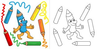 Herr Pencil Lizenzfreies Stockbild