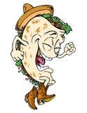 Herr taco royaltyfria foton