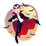 Herr Vampire Stockbild