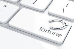 Herradura de la fortuna Fotografía de archivo libre de regalías