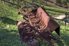 Herramienta agricoltural vieja Imagenes de archivo